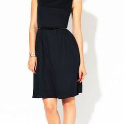 """<a href=""""http://www.gilt.com/sale/women/kate-spade-new-york-apparel/product/140300828-kate-spade-new-york-sonja-pleated-cotton-belted-dress"""">Sonja pleated cotton dress</a>, $159 (was $355)"""