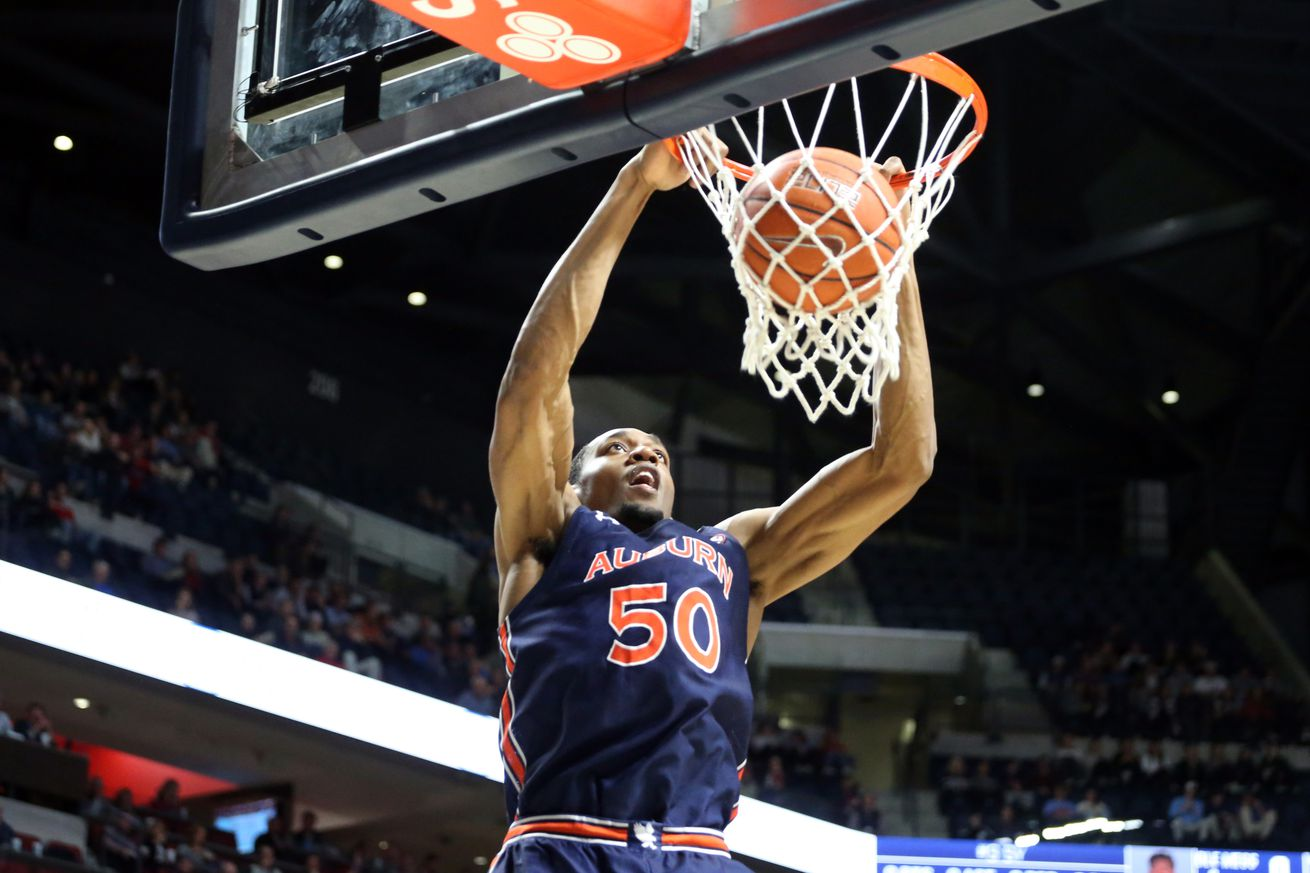 NCAA Basketball: Auburn at Mississippi
