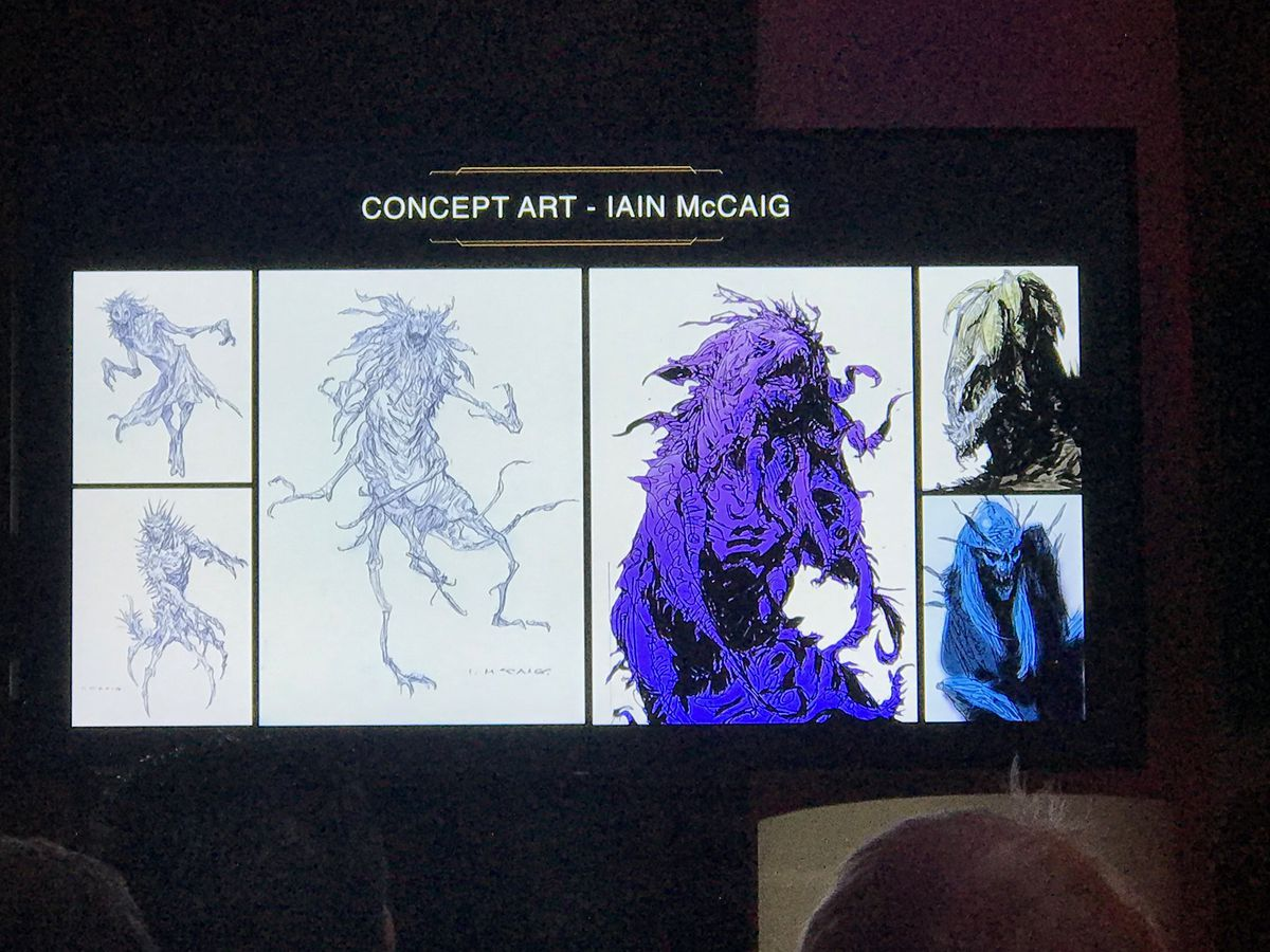 Star Wars: The High Republic concept art by Iain McCaig of various creatures