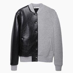 "T by Alexander Wang varsity jacket, <a href=""http://www.lagarconne.com/store/item.htm?itemid=25901&sid=&pid=&utm_source=shopstyle&utm_medium=cpc&utm_campaign=shopstyle"">$1,050</a> at La Garconne"