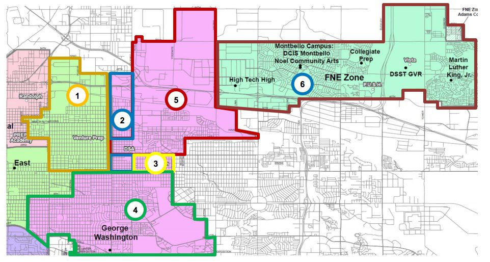 Potential areas the new Northfield high school could draw from.
