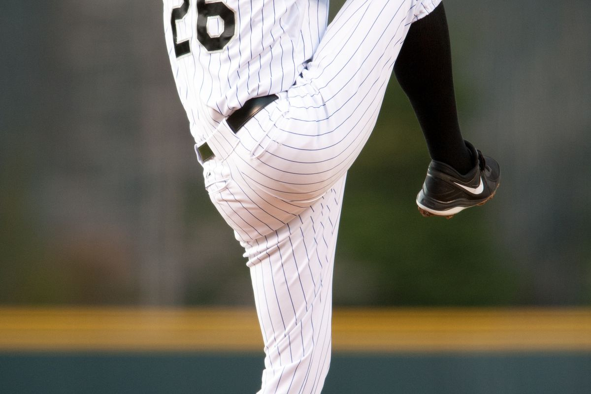 Jeff Francis starts on the mound for the Rockies tonight against the Blue Jays.