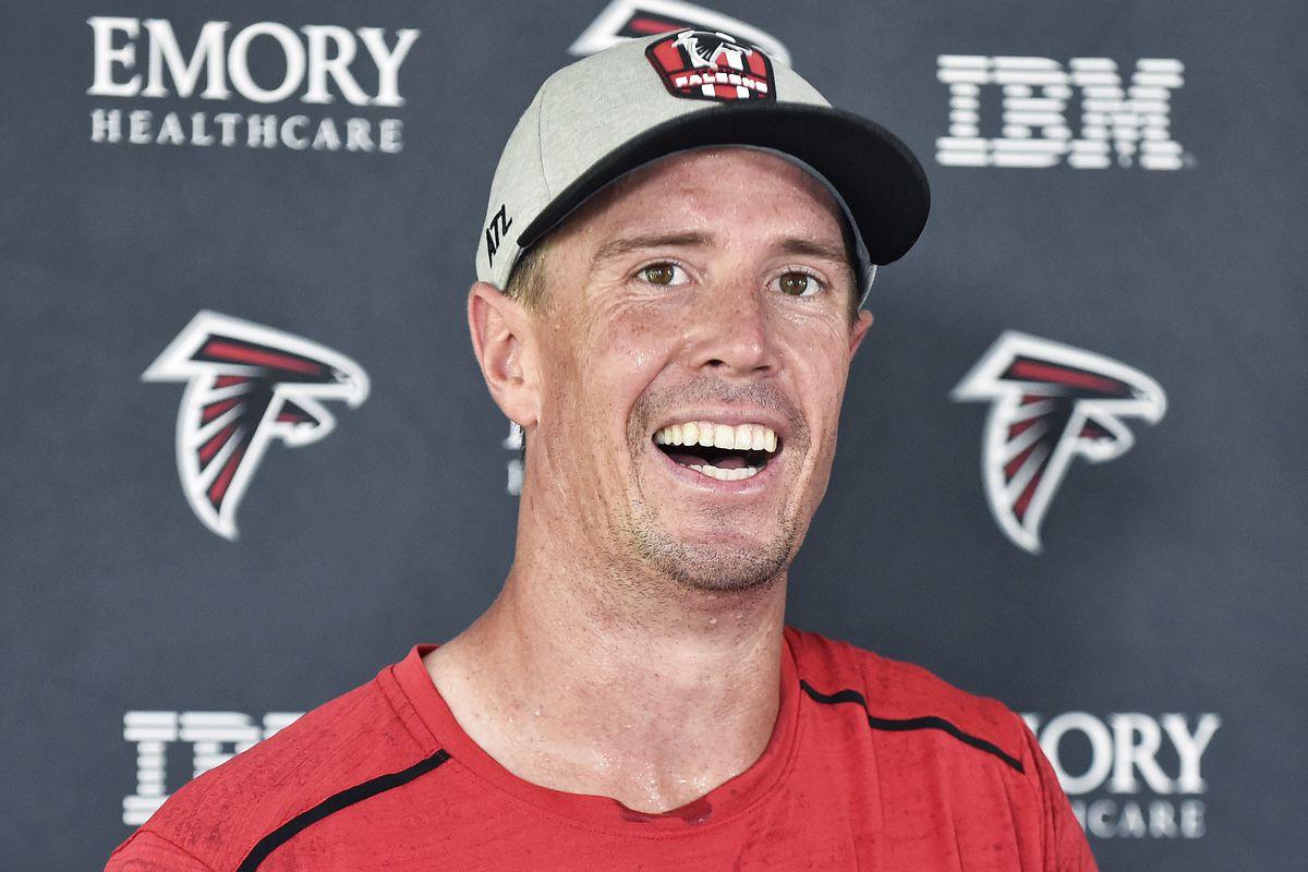 NFL: JUL 29 Falcons Training Camp