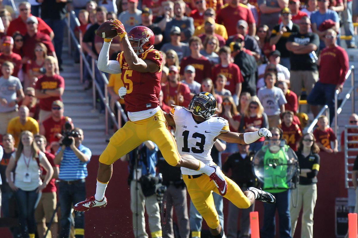NCAA Football: Iowa at Iowa State