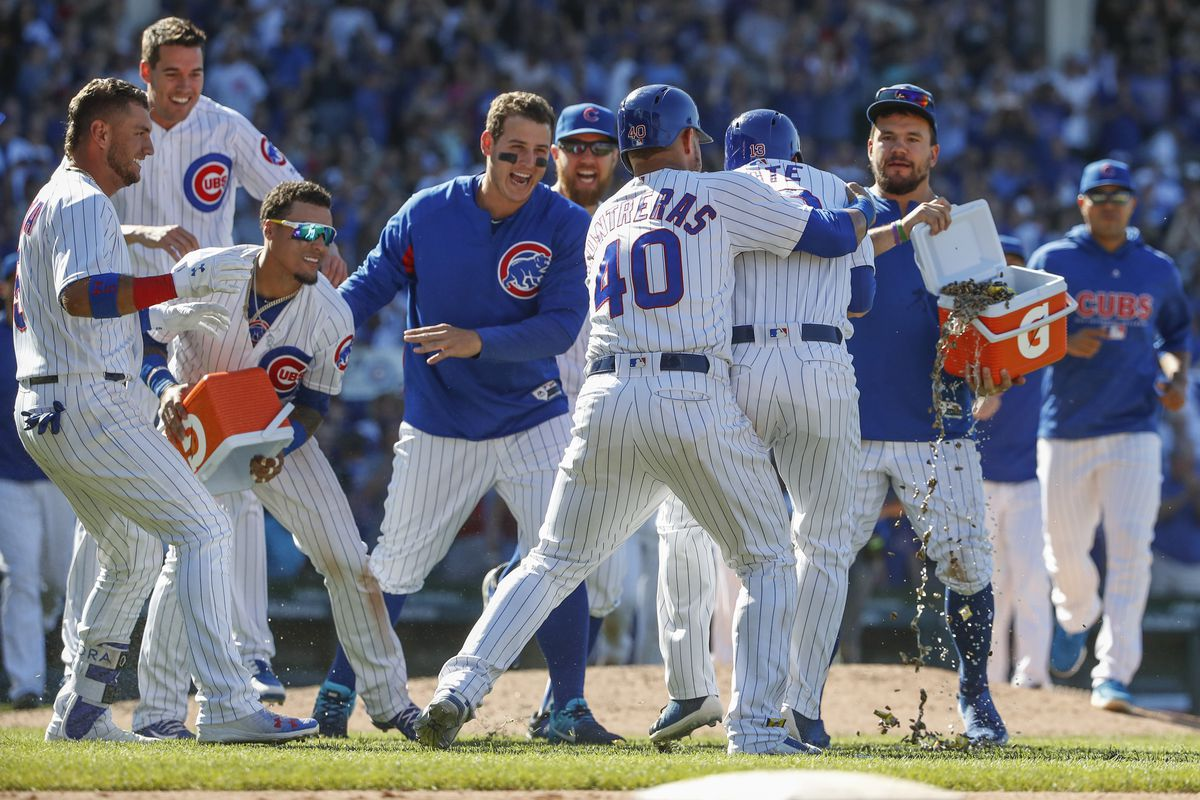 huge discount cd294 e4a80 Cubs 6, Reds 5: David Bote walks it off - Bleed Cubbie Blue