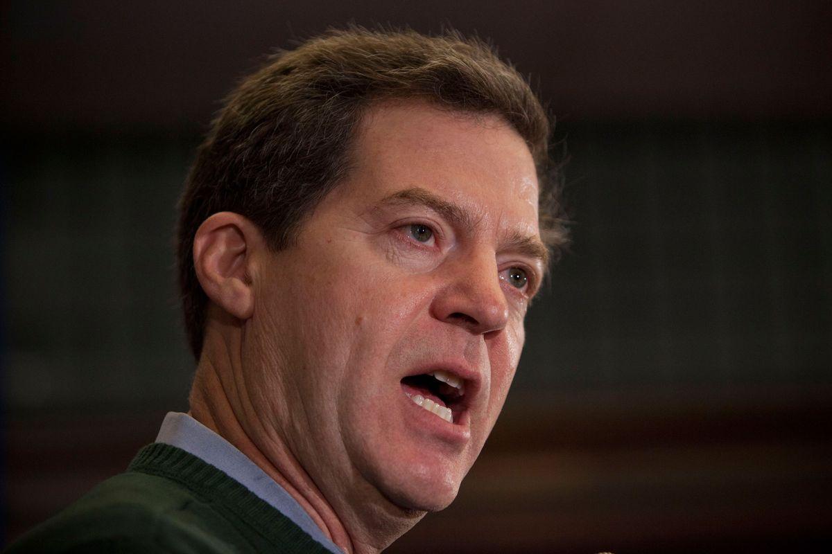 Kansas Gov. Sam Brownback signed the anti-abortion measure into law.