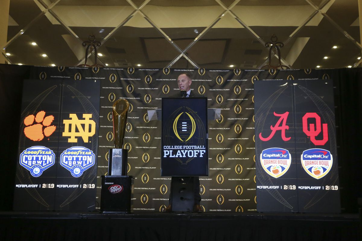 NCAA Football: College Football Playoff-Selection Sunday