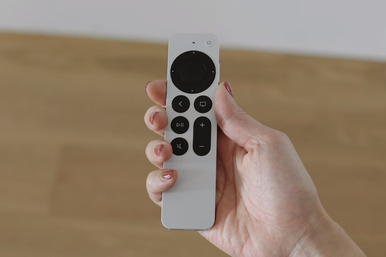 Apple unveils a redesigned remote for its new Apple TV 4K