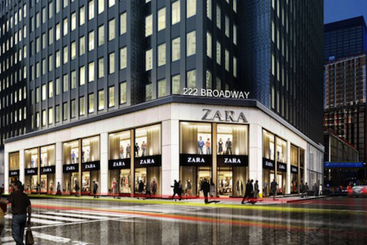 """Image via <a href=""""http://nypost.com/2014/01/27/zara-to-open-shop-in-financial-district/"""">New York Post</a>"""