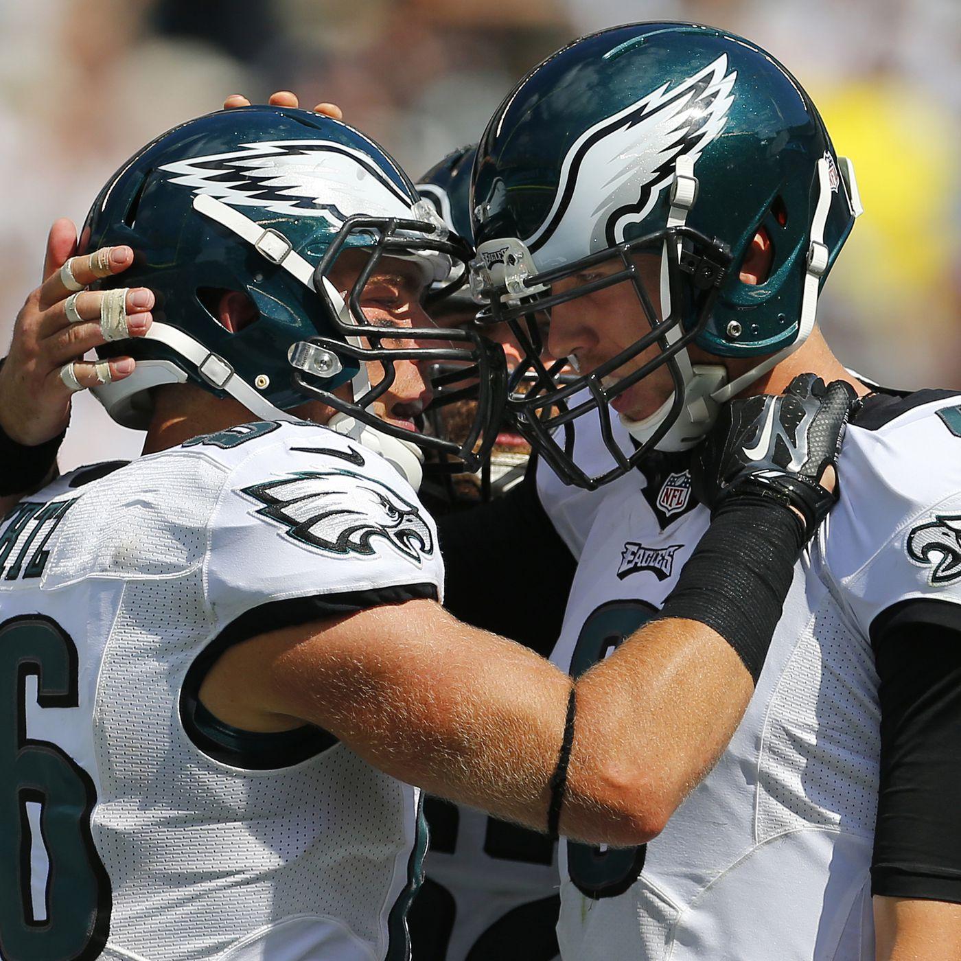 size 40 1a8b5 b7e37 Philadelphia Eagles have more white players than any team in ...