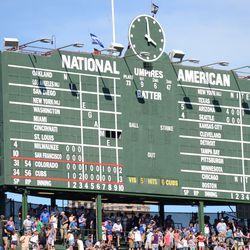4:00 p.m. Cubs win! -