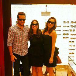 """The masterminds behind F3SF: Lindsay Stevens and Rena Ramirez, with a handsome friend, photo via <a href=""""http://instagram.com/renaram"""">@renaram</a>"""