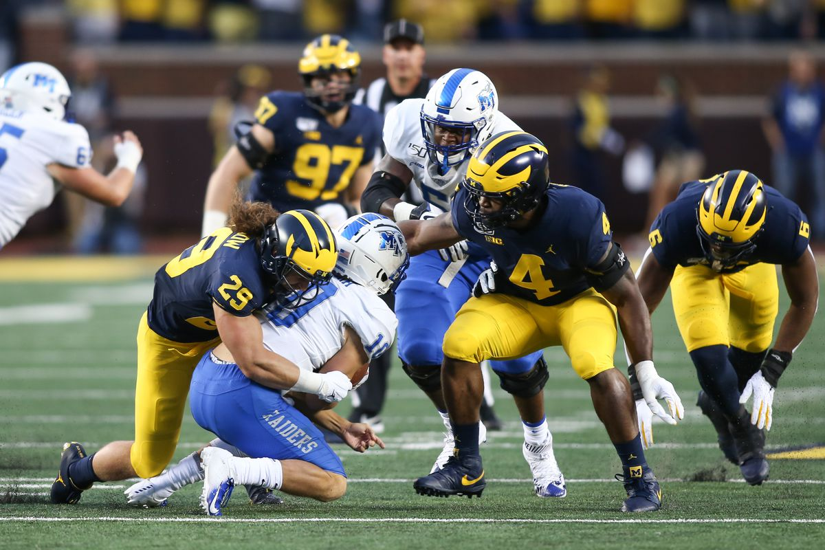 COLLEGE FOOTBALL: AUG 31 Middle Tennessee at Michigan
