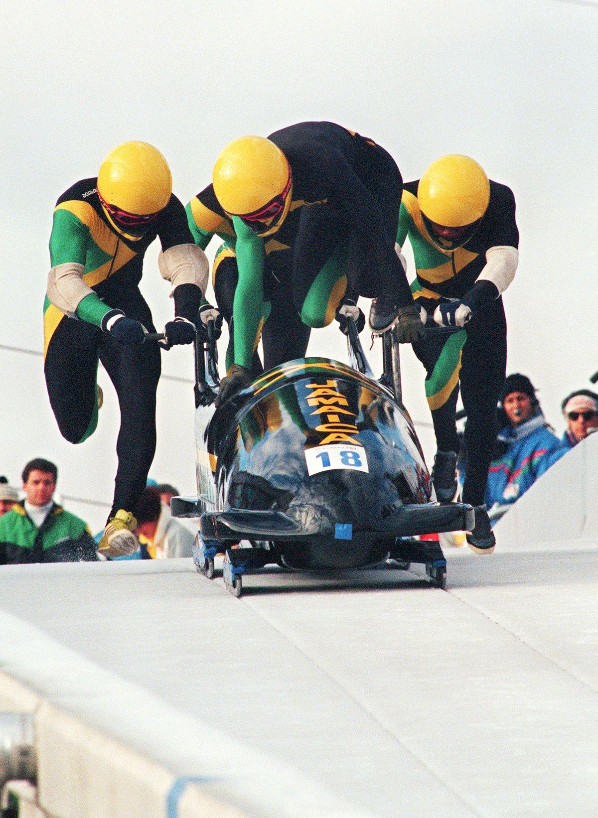 Pilote jamaïcain de bobsleigh à quatre Dudley