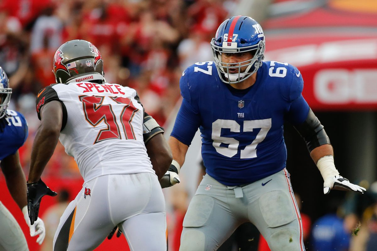 Giants at 49ers inactives Olivier Vernon Justin Pugh active