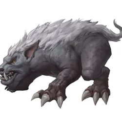 The first step in my process of creating creatures like these is to work with a description from our narrative team. I was informed that gargons are loyal beasts, crafted first from stone and animated by the venthyr using the anima they exsanguinate from souls sent to them. They are used as guards, hunting companions, pets, and fellow tormenters of souls. In the rare battles Revendreth has fought, these creatures would be used on the front line against ground forces. It can be challenging to create a new type of creature like this since there are so many possible directions to go, but I knew I needed to make a friendly pet for venthyr. Inspired by some of my favorite old animations, I decided that I wanted this creature to have a bat face and bear body. I also wanted to make sure the design looked epic, because this is the first time a creature like this will be seen in World of Warcraft. <em>Jay Nam – Character Artist</em>