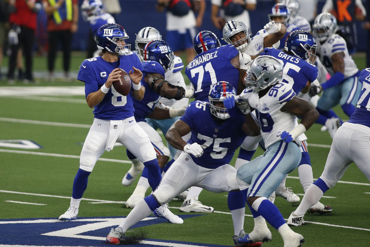 Giants vs. Cowboys opening odds - Giants open as 2.5 point underdogs - Big  Blue View