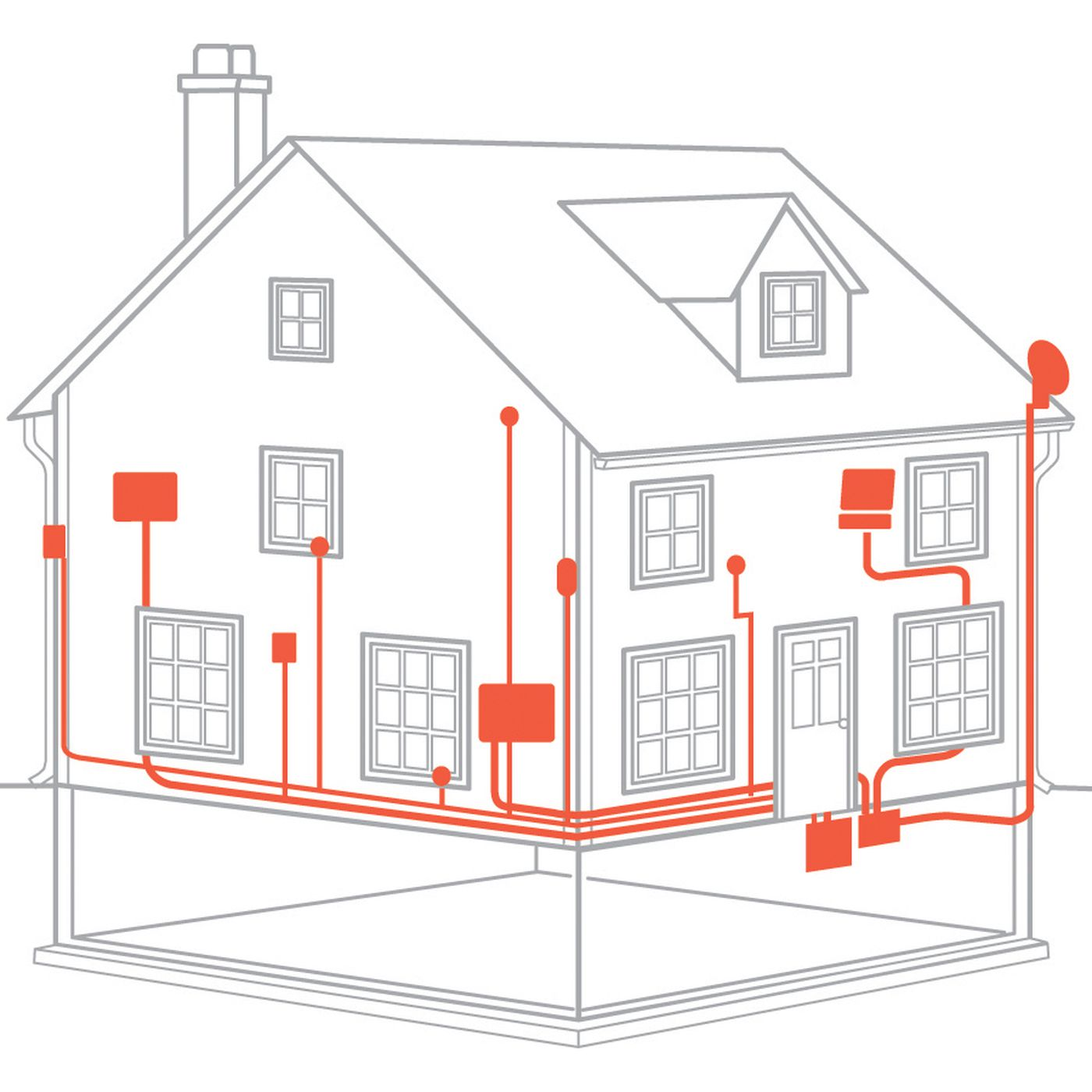 From the Ground Up: Electrical Wiring - This Old House | Beautiful Home Wiring |  | This Old House
