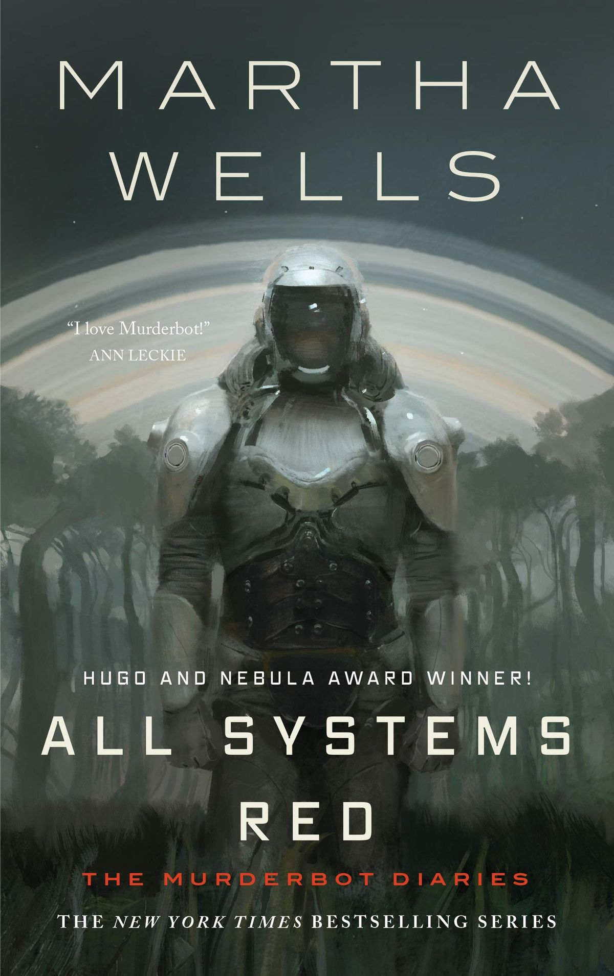 The Murderbot Diaries series by Martha Wells