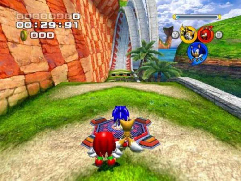 Sonic Heroes screenshot