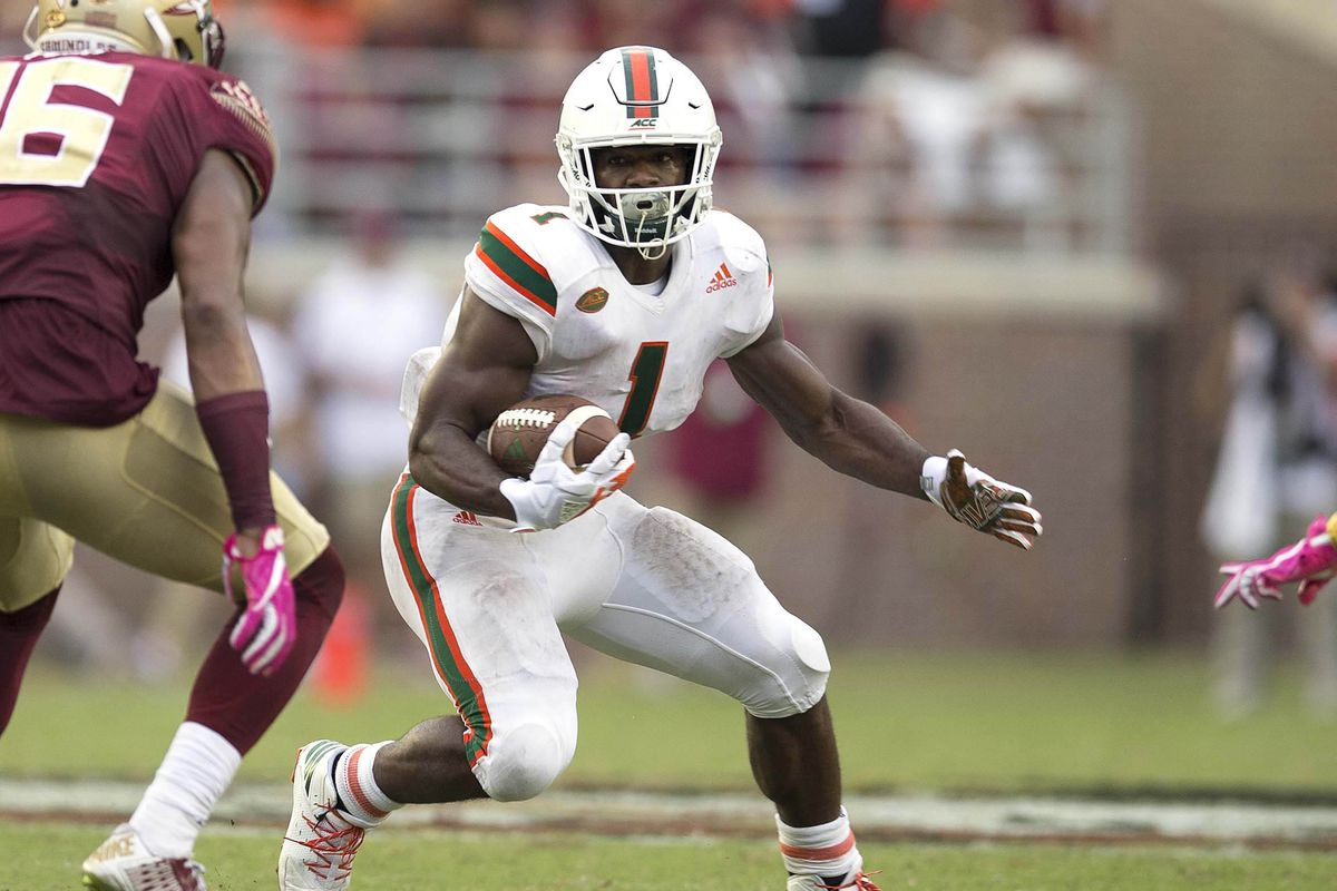 Assessing The Value Bengals Got In Drafting Miami Rb Mark
