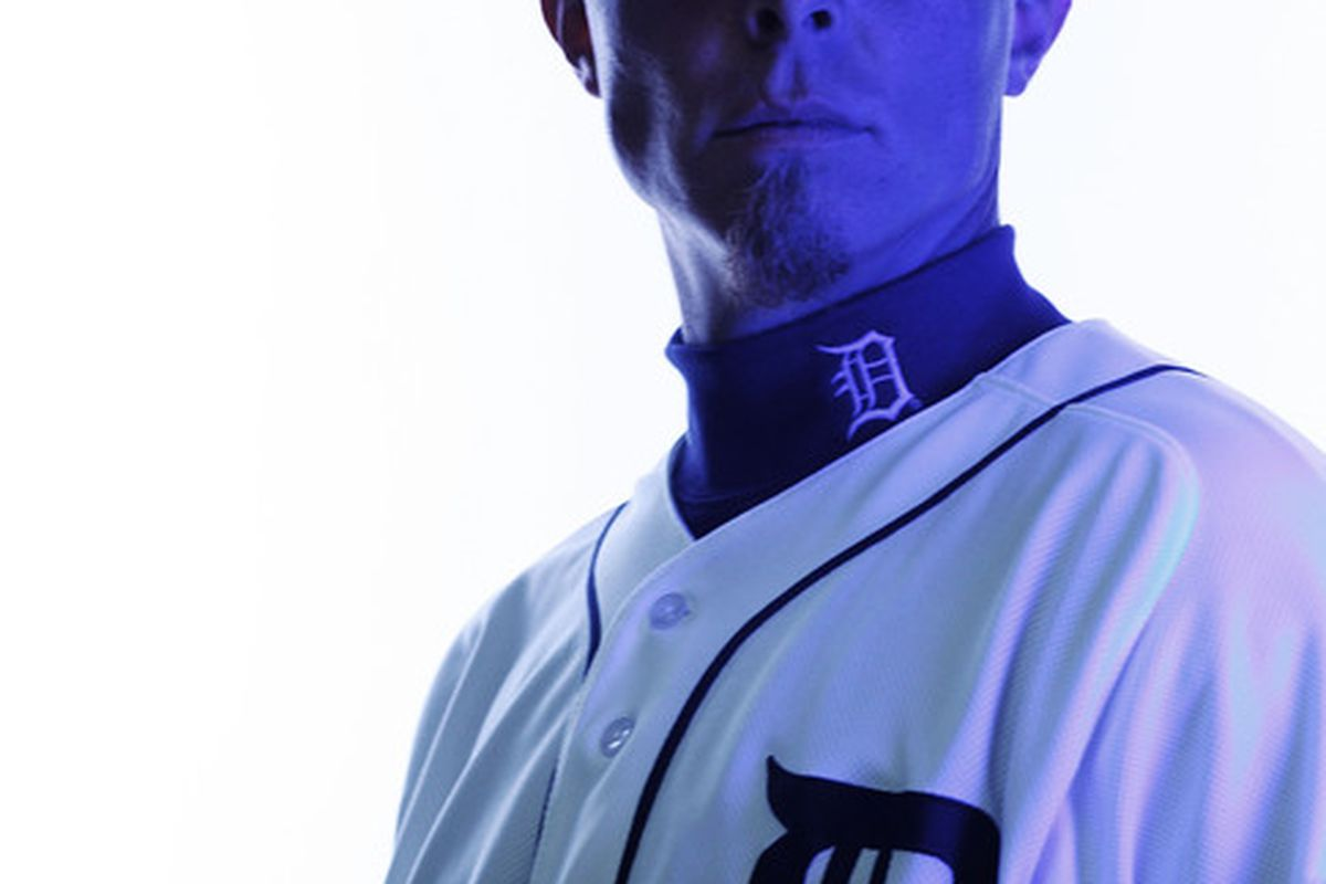 Brandon Inge is serious and blue, and I am too.