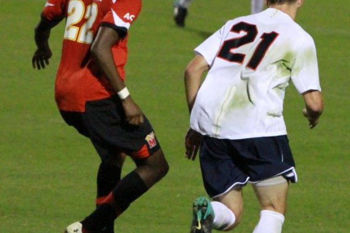 Freshman Ryan Zinkhan had one goal and one assist in the Cavaliers' upset of the Terrapins last Friday.