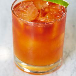 Oleomaze cocktail by Máté Hartai.