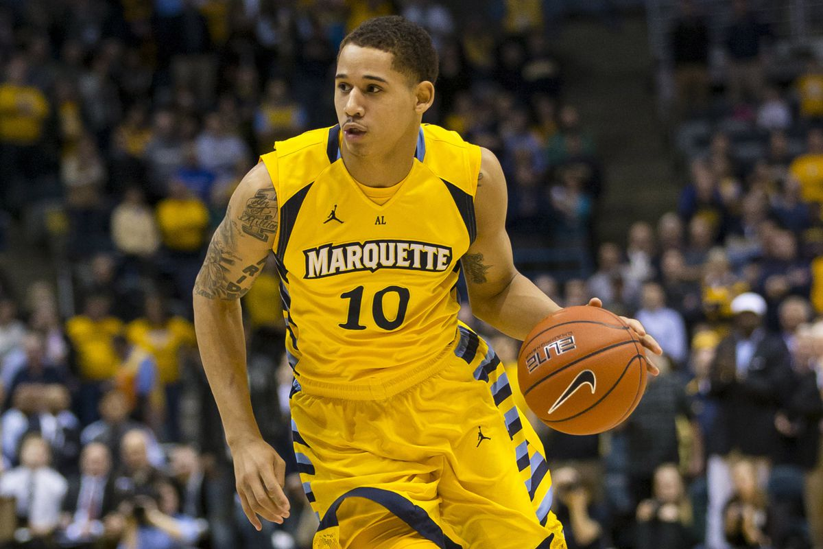 Juan Anderson got the start for Marquette and recorded a game high 27 points.