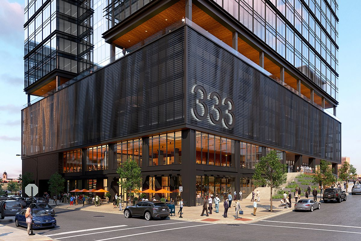 West Loop Development Update Three Office Towers And