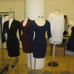 Catherine Malandrino collection short dresses are all $155