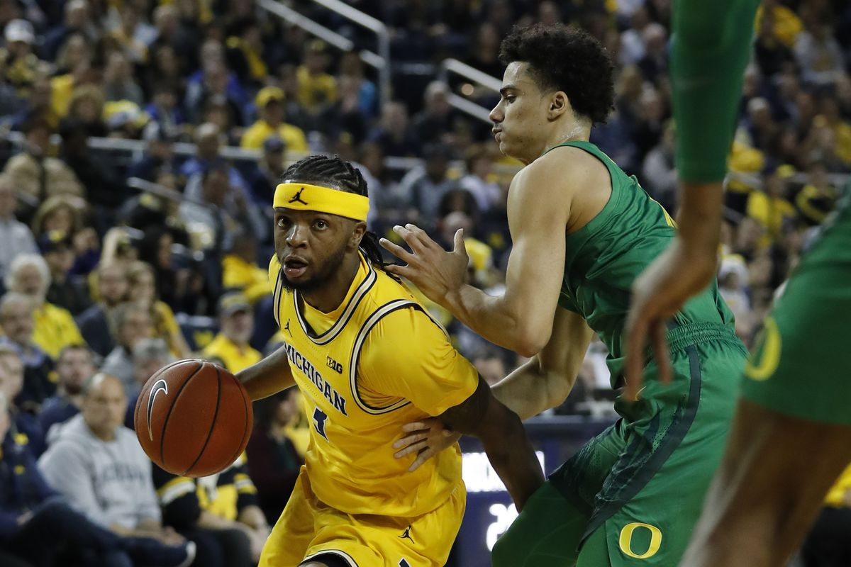 NCAA Basketball: Oregon at Michigan