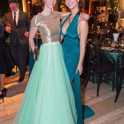 Designer Patricia Gomez-Gracia and Camille Crowder