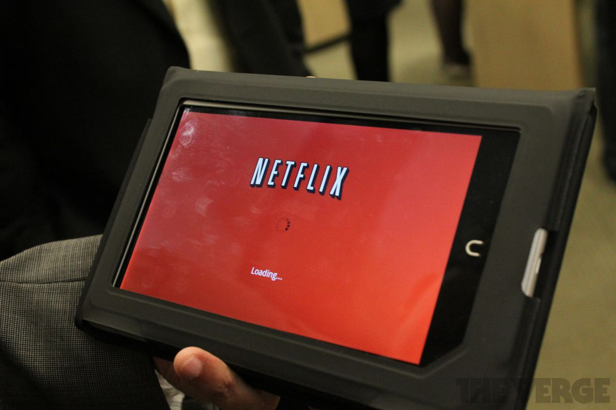 Netflix Nook Tablet