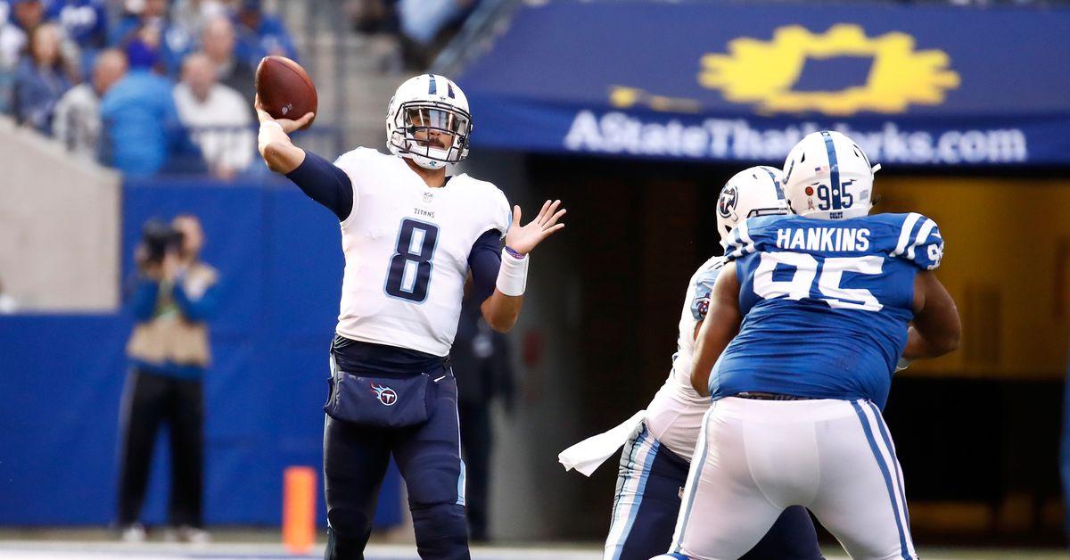 Titans vs. Colts open game thread