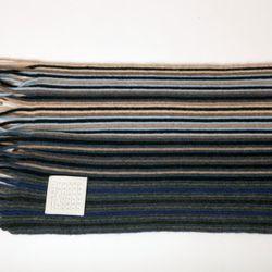 Cashmere Striped Scarf, $195<br />