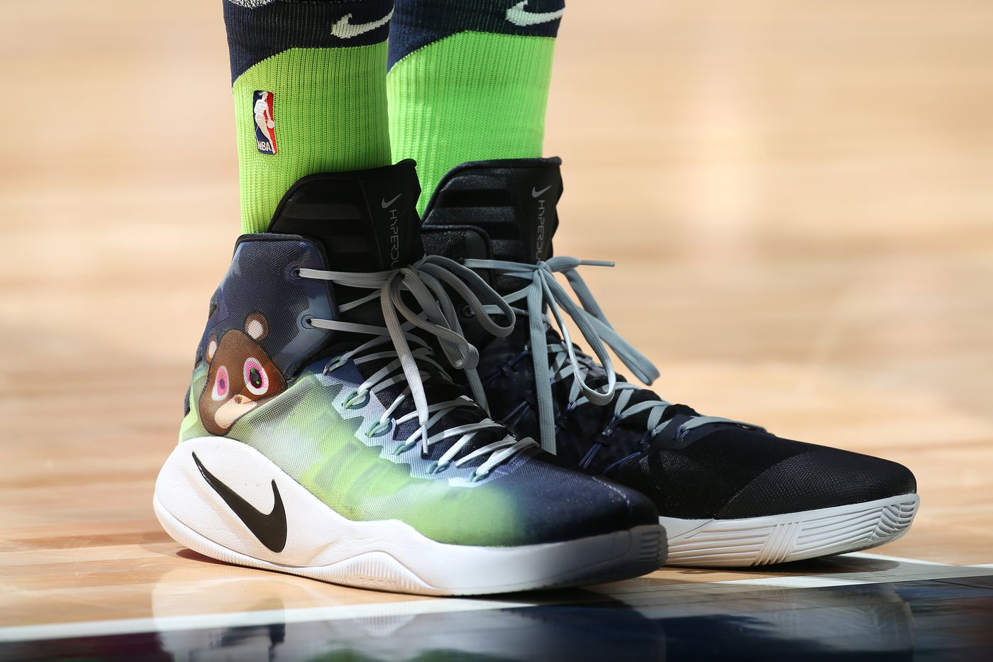 Karl Anthony Towns Custom Sneaker Game Is Best In The Entire Nba