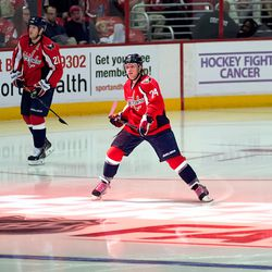 John Carlson in Pink Laces, Hockey Fights Cancer
