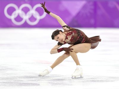 Evgenia Medvedeva won the Olympic silver medal for her figure skating.