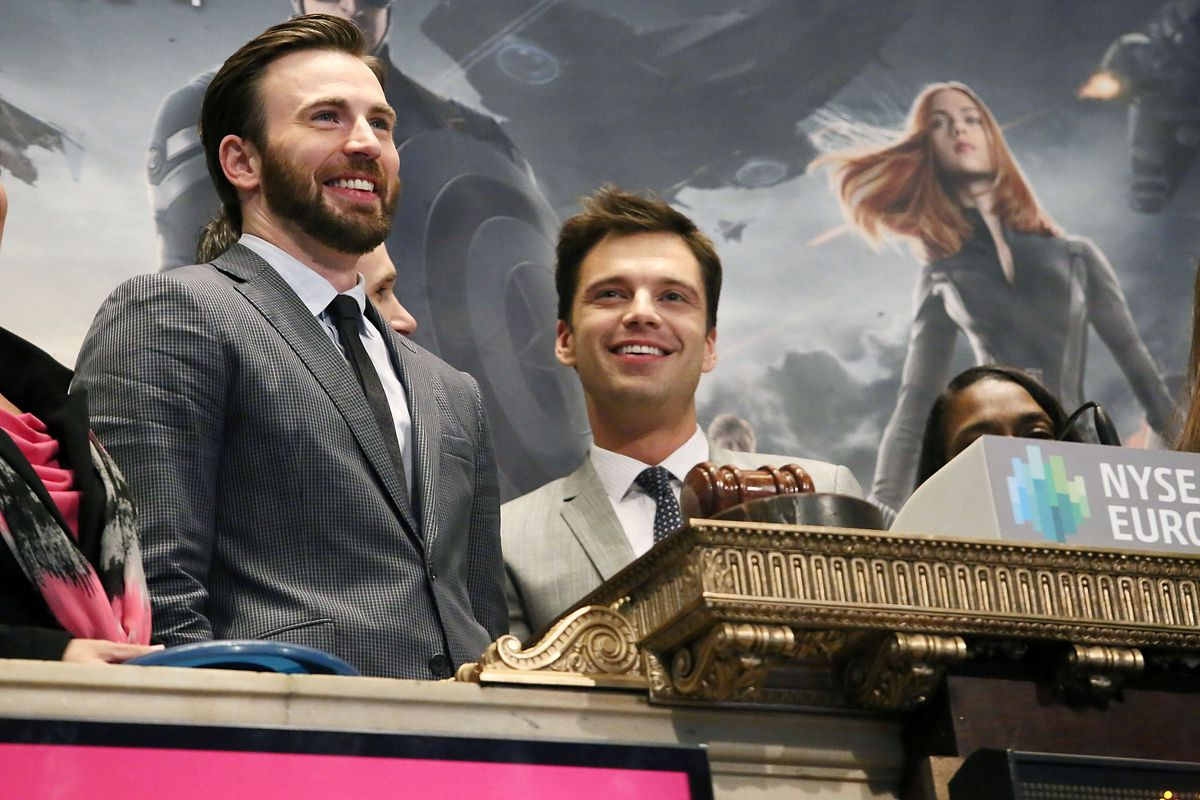 OK, youngsters. If Chris Evans bangs the gavel at the NYSE, will you be pumped about stock then?