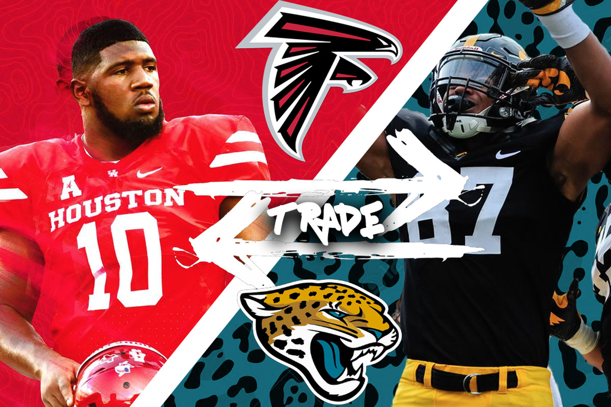 a2245d623 2019 NFL Draft trade scenario: If the Jaguars are looking to trade down,  the Falcons may be willing to dance