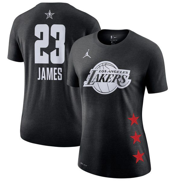 a563c381a00 LeBron James Women's 2019 All-Star Game Nike T-shirt for $34.99 Fanatics