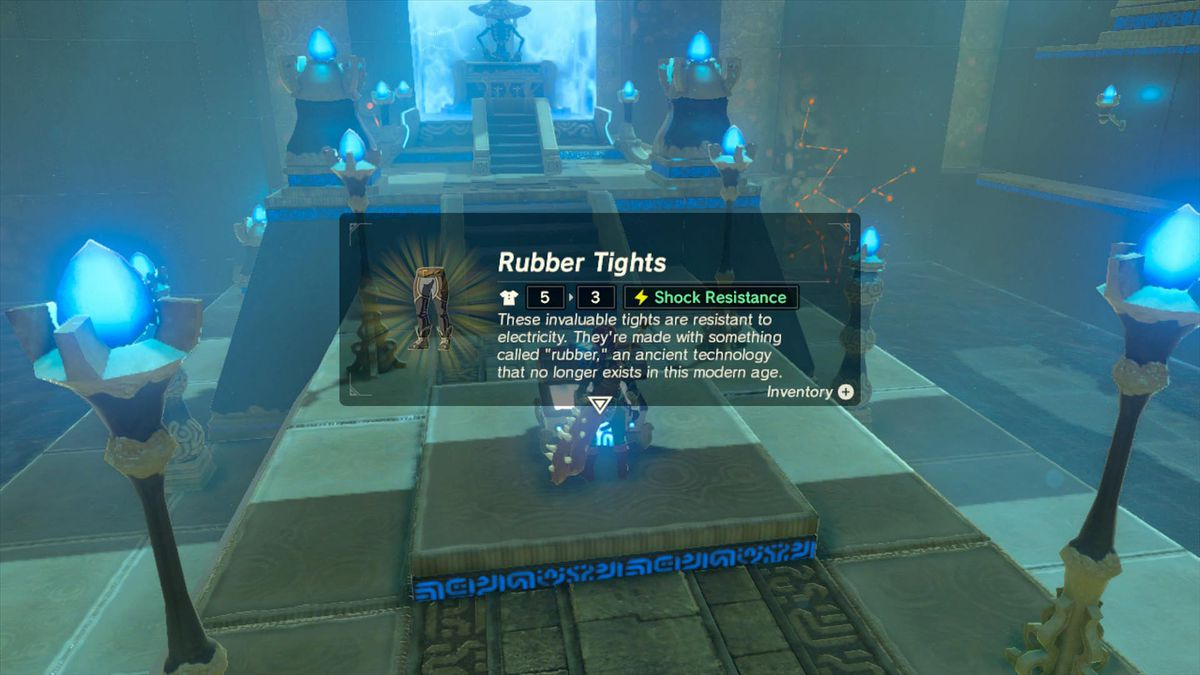 Zelda Breath of the Wild guide: How to get the rubber armor set