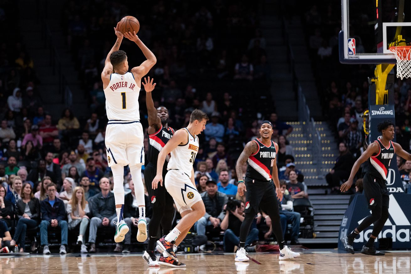 The case for MPJ to get playing time