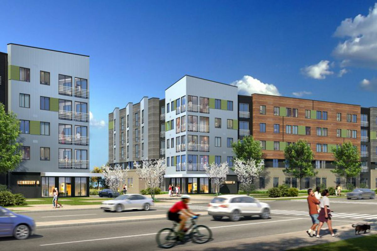 Washington dc homes neighborhoods architecture and real estate construction starts next week on an affordable housing development in arlington gumiabroncs Choice Image