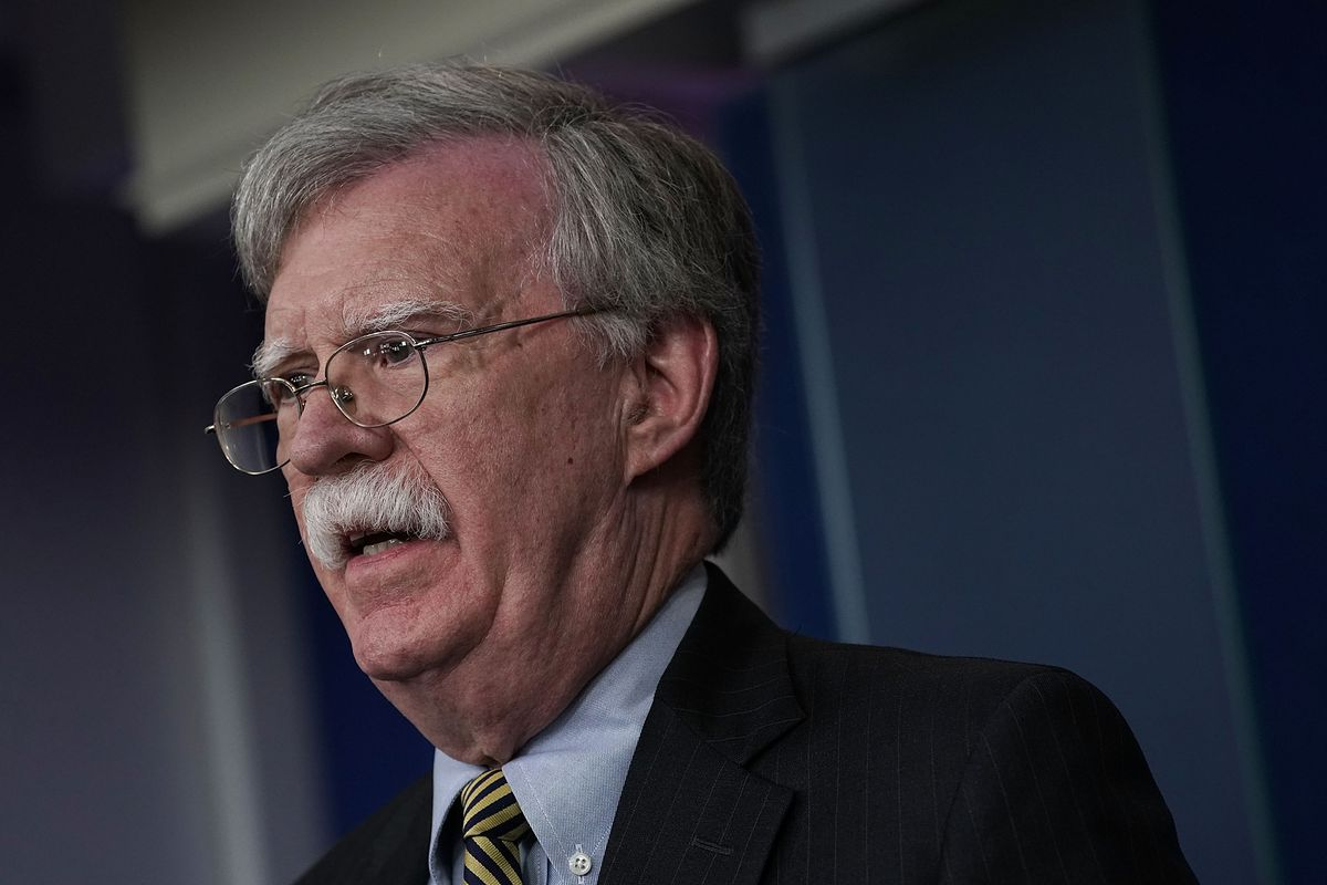 National Security Adviser John Bolton reportedly told Turkish officials US troops would remain in Syria to counter Iran.