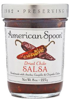 a jar of American spoon salsa.