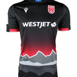 The front of Cavalry FC's 2020 away kit