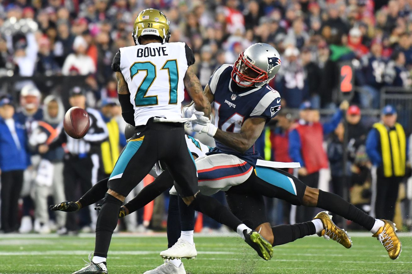 Oh hey.  It's A.J. Bouye.  In the AFC Championship Game.
