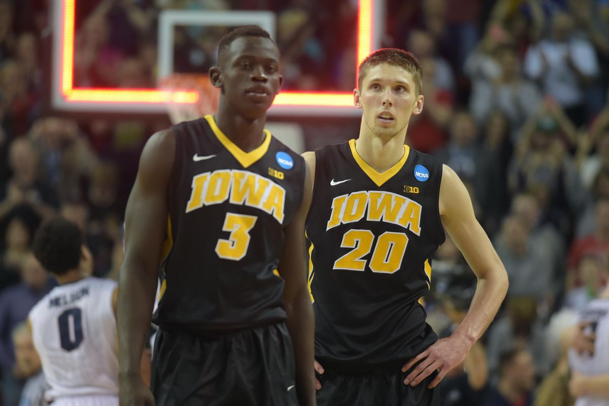 Peter Jok, Jarrod Uthoff, and the rest of the Hawkeyes have a challenging non-conference slate ahead of them